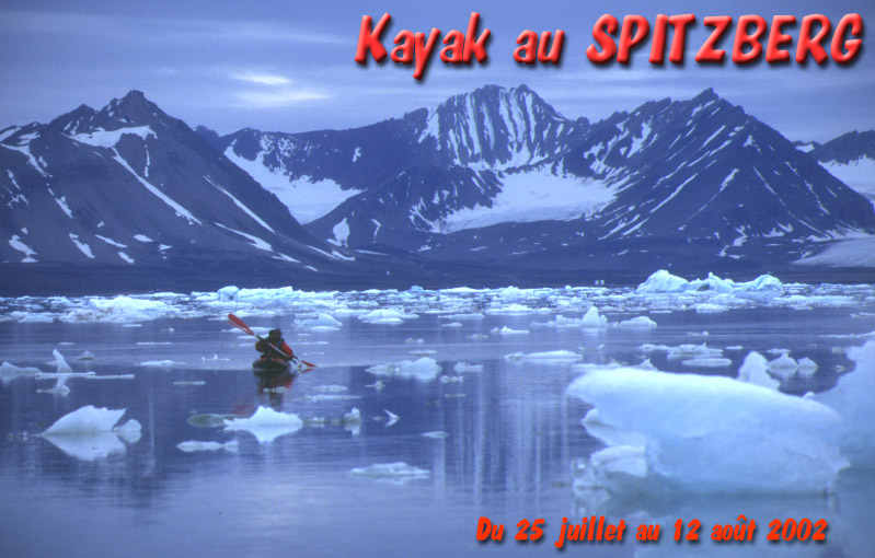 Raid En Kayak Au Spitzberg